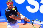 24th April 2019, Real Club de Tenis, Barcelona, Spain; ATP 500, Barcelona Open Banc Sabadell, day 3; picture show David Ferrer (ESP) vs Lucas Pouille (FRA)