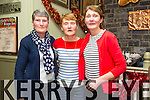 The Kelleher Sisters from O'Rahillys Villas, Tralee celebrating Womens Christmas early.  Norann O'Connor, Eilish Rudden, Marie Slattery at the Brogue Inn on Friday