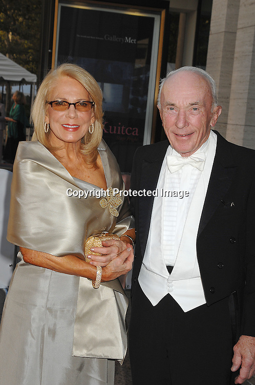 Judy Blye Wilson and date..arriving at The Metropolitan Opera 2007-08 Opening Night on September 24, 2007 at The Metropolitan Opera House..in Lincoln Center in New York City. ....photo by Robin Platzer, Twin Images ....212-935-0770