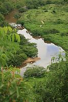 EUNÁPOLIS, BA, 19.12.2008 - RIO BURANHÉM - imagem de arquivo do Rio Buranhém na cidade de Eunápolis (Sul da Bahia). (Foto: Joá Souza / Brazil Photo Press).