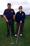 Micheal Foley, mens captain and Margret McDonald, ladies captain at Towney Hall golf club. .pic:Arthur Carron/ Newsfile
