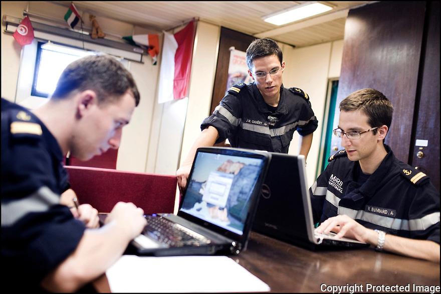 2009 / Officier élève.<br /> L'avant poste.
