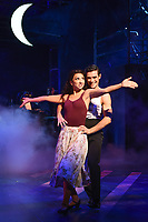 Zizi Strallen &amp; Jonny Labey at the photocall for &quot;Strictly Ballroom the Musical&quot; at the Piccadilly Theatre, London, UK. <br /> 17 April  2018<br /> Picture: Steve Vas/Featureflash/SilverHub 0208 004 5359 sales@silverhubmedia.com