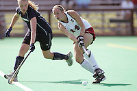 STANFORD, CA - OCTOBER 19:  Heather Alcorn of the Stanford Cardinal during Stanford's 12-0 win over UC Davis on October 19, 2008 at the Varsity Field Hockey Turf in Stanford, California.