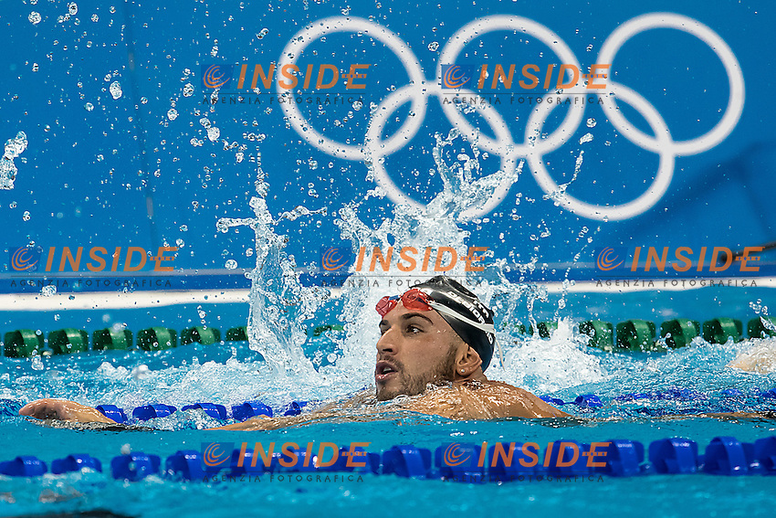 Alex Di Giorgio ITA Italy<br /> training<br /> Rio de Janeiro 04-08-2016 XXXI Olympic Games <br /> Olympic Aquatics Stadium <br /> Swimming <br /> Photo Giorgio Scala/Deepbluemedia/Insidefoto