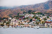City of Avalon on Catalina Island