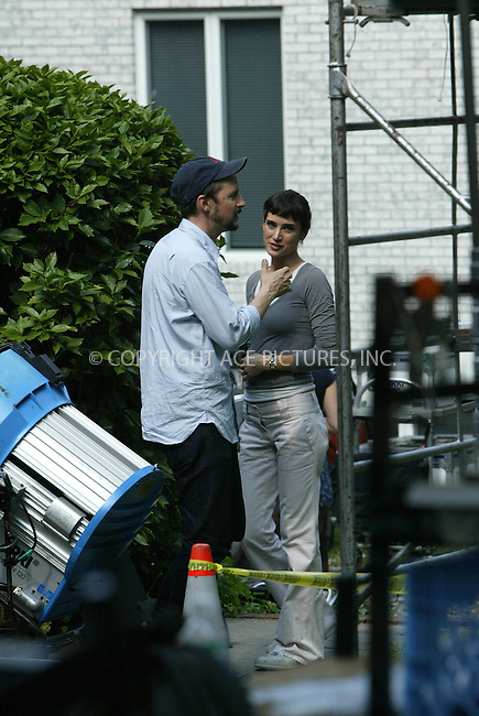 WWW.ACEPIXS.COM . . . . .***EXCLUSIVE!!! FEE MUST BE NEGOTIATED BEFORE USE!!!***....QUEENS, JULY 27, 2005....Jennifer Connelly is on the Queens set of the new Todd Field movie 'Little Children.' For a lunch break, Jennifer Connelly and husband Paul Bettany take their children Kai Dugan and Stellan Bettany out for lunch. Both children were sporting mohawk haircuts and Kai Dugan seemed delighted with the time spent with his mom. Baby Stellan just clung to his father Paul Bettany for most of the time. After lunch Jennifer Connelly returns back to the set, signs autographs for fans and talks to director Todd Field. After many hand gestures, Jennifer Connelly and Todd Field have a good hug.....Please byline: JENNIFER L GONZELES-ACE PICTURES.... *** ***..Ace Pictures, Inc:  ..Craig Ashby (212) 243-8787..e-mail: picturedesk@acepixs.com..web: http://www.acepixs.com