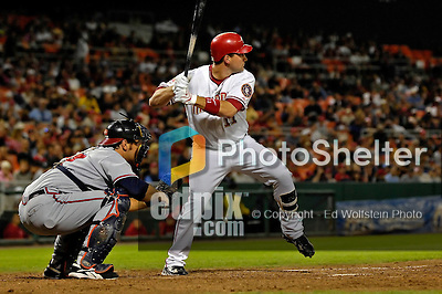 15 September 2007: Washington Nationals third baseman Ryan Zimmerman in action against the Atlanta Braves at Robert F. Kennedy Memorial Stadium in Washington, DC. The Nationals defeated the Braves 7-4 in the second game of their 3-game series...Mandatory Photo Credit: Ed Wolfstein Photo