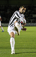 Steven Thompson in the St Mirren v Ayr United Scottish Communities League Cup match played at St Mirren Park, Paisley on 29.8.12.