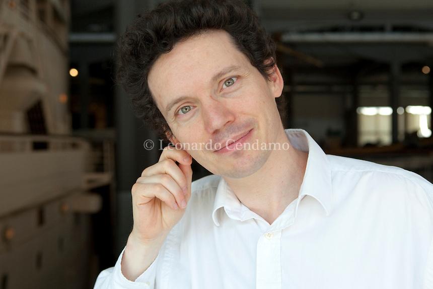 Wendelin Werner, Professeur di mathematiques all\'Universit® di Paris-Sud 11 in Orsey, Milanesiana 2010-  ¬© Leonardo Cendamo
