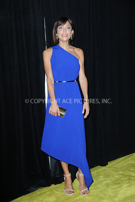 www.acepixs.com<br /> September 21, 2016  New York City<br /> <br /> Bethenny Frankel attending National Geographic's 'Years Of Living Dangerously' new season world premiere at the American Museum of Natural History on September 21, 2016 in New York City. <br /> <br /> Credit: Kristin Callahan/ACE Pictures<br /> <br /> <br /> Tel: 646 769 0430<br /> Email: info@acepixs.com