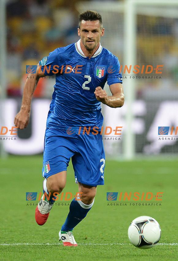 "Christian MAGGIO (Italia).Kiev 24/06/2012  ""Stadio Olimpico"".Football calcio Europeo 2012 Inghilterra Vs Italia.Football Calcio Euro 2012.Foto Insidefoto Alessandro Sabattini..."