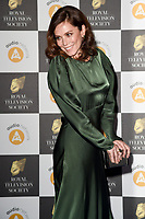 LONDON, UK. March 19, 2019: Anna Friel arriving for the Royal Television Society Awards 2019 at the Grosvenor House Hotel, London.<br /> Picture: Steve Vas/Featureflash