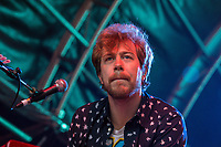 James Bourne of Busted performing during AmpRocks 2017, part of Ampthill Festival, at Ampthill Great Park, Ampthill, England on 30 June 2017. Photo by David Horn.