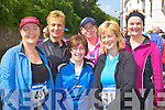 Mary O'Sullivan, Kathy O'Connor, Sheila Cantillon, Breda Lynch, Geraldine Bowler and Mary O'Brien Glenflesk at the Killarney Lions club mini marathon in Killarney on Sunday..