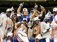 01 January 2010:  Florida Gators vs Cincinnati BearCats during Sugar Bowl at the SuperDome in New Orleans, Louisiana.  Florida defeated Cincinnati, 51-24.