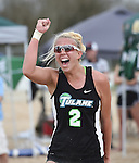 Tulane Sand Volleyball vs. ULM (March 2015)