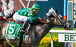 May 11, 2019: Homerique, ridden by Irad Ortiz Jr,, wins the 2019 running of the G3 Beaugay at Belmont Park in Elmont, NY. Sophie Shore/ESW/CSM