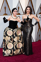 Rita Moreno and daughter Fernanda Luisa Gordon arrives on the red carpet of The 90th Oscars&reg; at the Dolby&reg; Theatre in Hollywood, CA on Sunday, March 4, 2018.<br /> *Editorial Use Only*<br /> CAP/PLF/AMPAS<br /> Supplied by Capital Pictures