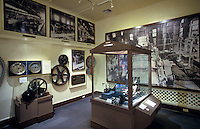 Exhibits within Alexander & Baldwin Sugar Museum, an historical sugar mill containing displays on the history of the sugar industry, Puunene, Maui
