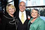 Pat Holmes with Robert and Vicky Birenbaum at the Heart of Gold Celebration benefitting Neighborhood Centers Inc at the Hilton Americas Hotel Thursday Feb. 25,2010. (Dave Rossman Photo)