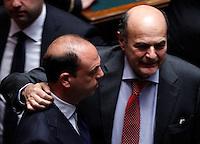 20130418 ROMA-POLITICA: PRIMA VOTAZIONE PER L'ELEZIONE DEL NUOVO CAPO DELLO STATO