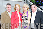 Seamus and Mary McCarthy with Eileen and Tim Brosnan Killarney at the Celebrity Restaurant in aid of the Kerry Rape and Sexual Abuse Centre at the Plaza Hotel Killarney on Thursday evening..