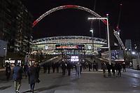 Fans auf dem Weg ins Wembley Stadium - 10.11.2017: England vs. Deutschland, Freundschaftsspiel, Wembley Stadium