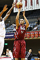 Chris Moss (Brave Thunders), October 14, 2011 - Basketball : JBL 2011-2012 match between Toshiba Brave Thunders 42-89 Hitachi Sunrockers at Kawasaki Todoroki Arena, Kanagawa, Japan. (Photo by Daiju Kitamura/AFLO SPORT) [1045]