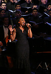 Nikki Rene Daniels during the Broadway Classics in Concert at Carnegie Hall on February 20, 2018 at Carnegie Hall in New York City.