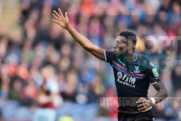 Crystal Palace's Timothy Fosu-Mensah during the premier league match at the Turf Moor Stadium, Burnley. Picture date 10th September 2017. Picture credit should read: Paul Burrows/Sportimage