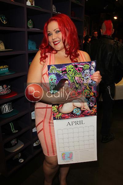 April Flores<br /> at the Mishka Calendar Launch &amp; Signing, Mishka, Los Angeles, CA 11-02-12<br /> David Edwards/DailyCeleb.com 818-249-4998