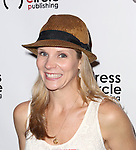 Kelli O'Hara attends the Seth Rudetsky Book Launch Party for 'Seth's Broadway Diary' at Don't Tell Mama Cabaret on October 22, 2014 in New York City.