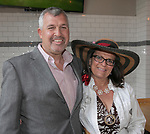 Art and Paula Fleming during the Kentucky Derby Party at The Depot on Saturday, May 6, 2017 in Reno, Nevada.