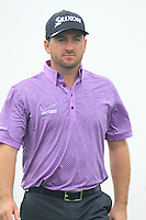 Graeme McDowell (NIR) walks off the 2nd tee during Thursday's Round 1 of the 2014 BMW Masters held at Lake Malaren, Shanghai, China 30th October 2014.<br /> Picture: Eoin Clarke www.golffile.ie