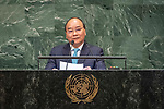 LOS general debate &ndash; 27 September<br /> <br /> PM<br /> <br />  His Excellency Nguyen Xuan Phuc, Prime Minister, Socialist Republic of Viet Nam