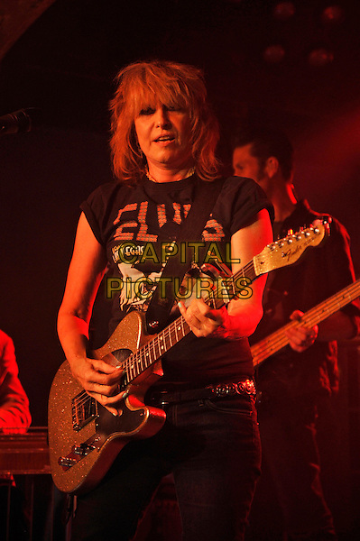 LONDON, ENGLAND - OCTOBER 20: Chrissie Hynde of 'The Pretenders' performing at Omeara on October 20, 2016 in London, England.<br /> CAP/MAR<br /> &copy;MAR/Capital Pictures