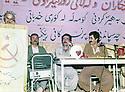 Iraq 1984 <br /> 3rd conference of Komala in Mergapa with Kader Haji Ali, Azad Hakrawi and Mullazem Omar<br /> IraK 1984<br /> 3eme conference du Komala a Mergapa avec Kader Haji Ali, Azad Hakrawi et Mullazem Omar