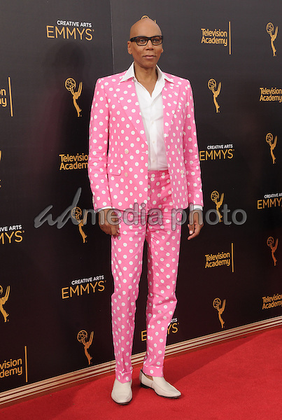 11 September 2016 - Los Angeles, California. RuPaul. 2016 Creative Arts Emmy Awards - Day 2 held at Microsoft Theater. Photo Credit: Birdie Thompson/AdMedia
