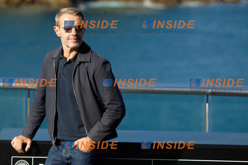 Lambert Wilson, Pierre Niney and Jerome Salle attend the Odissey photocall during the 64th San Sebastian film festival at the Aquarium in San Sebastian, Spain<br /> San Sebastian Film Festival 2016 <br /> Foto Panoramic / Insidefoto <br /> ITALY ONLY