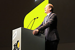 Tour Director Christian Prudhomme ASO on stage at Tour de France 2020 route presentation held in the Palais des Congrès de Paris (Porte Maillot), Paris, France. 15th October 2019.<br /> Picture: Eoin Clarke | Cyclefile<br /> <br /> All photos usage must carry mandatory copyright credit (© Cyclefile | Eoin Clarke)