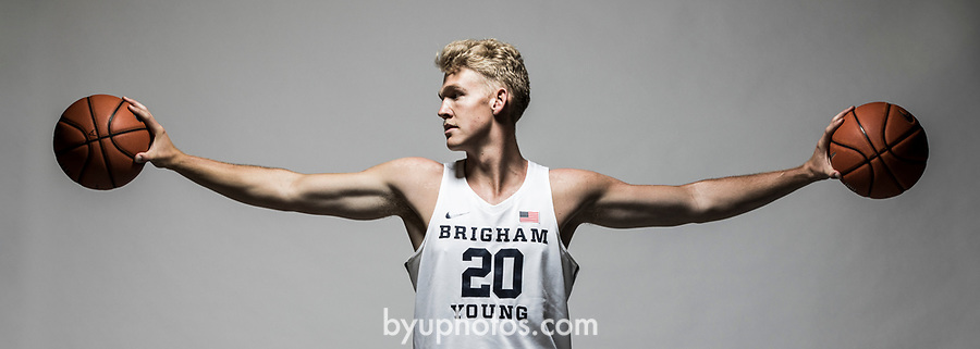 17-18 mBKB New Players 0157<br /> <br /> 17-18 mBKB New Players<br /> <br /> July 14, 2017<br /> <br /> Photography by Nate Edwards/BYU<br /> <br /> © BYU PHOTO 2017<br /> All Rights Reserved<br /> photo@byu.edu  (801)422-7322