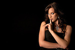 Model, Rachel Bock, photographed for Steven Charles Quance