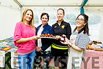 Cooking up a feast at the Donal Walsh 6k walk at the Spa NS on Sunday. L to r: Heather Hannifin, Angela Donnelan, Niamh Murphy and Mary Daly