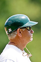 April 23, 2011:   Jacksonville University Dolphins head coach Terry Alexander during Atlantic Sun Conference action between Stetson Hatters and Jacksonville University Dolphins at John Sessions Stadium in Jacksonville, Florida.  Jacksonville defeated Stetson 10-4...........