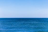 Sea meets sky.