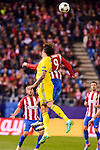 Atletico de Madrid's player Fernando Torres and CF Rostov's player César Navas during a match of UEFA Champions League at Vicente Calderon Stadium in Madrid. November 01, Spain. 2016. (ALTERPHOTOS/BorjaB.Hojas)