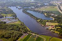 Wassersportzentrum Hamburg: EUROPA, DEUTSCHLAND, HAMBURG 05.06.2015: Das Wassersportzentrum Hamburg-Allermoehe ist eine in den Zusammenfluss von Dove Elbe und Gose Elbe gebaute Anlage fuer den Ruder- und Kanusport in Hamburg. Sie verfuegt ueber eine 2.000 Meter lange Regattastrecke, die fuer internationale Wettbewerbe geeignet ist.<br /> Am Rande der Regattastrecke liegt am Allermoeher Deich 34 das Landesleistungszentrum Rudern und Kanurennsport, das dem Olympiastuetzpunkt Hamburg-Kiel zugeordnet ist.