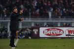 Walter Mazzarri Head coach of Torino FC gives directions to his players during the Serie A match at Stadio Grande Torino, Turin. Picture date: 12th January 2020. Picture credit should read: Jonathan Moscrop/Sportimage