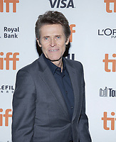 """TORONTO, ONTARIO - SEPTEMBER 10: Willem Dafoe attends the """"Motherless Brooklyn"""" premiere during the 2019 Toronto International Film Festival at Princess of Wales Theatre on September 10, 2019 in Toronto, Canada. <br /> CAP/MPI/IS/PICJER<br /> ©PICJER/IS/MPI/Capital Pictures"""